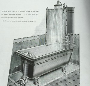 Shanks' Patent Modern Plunge and Spray Baths