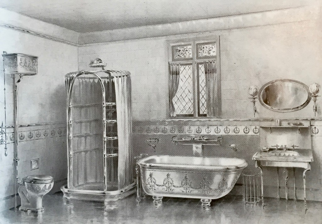 "The Modern Bathroom circa 1899 - ""Empire"" Design from Shanks & Co Ltd"