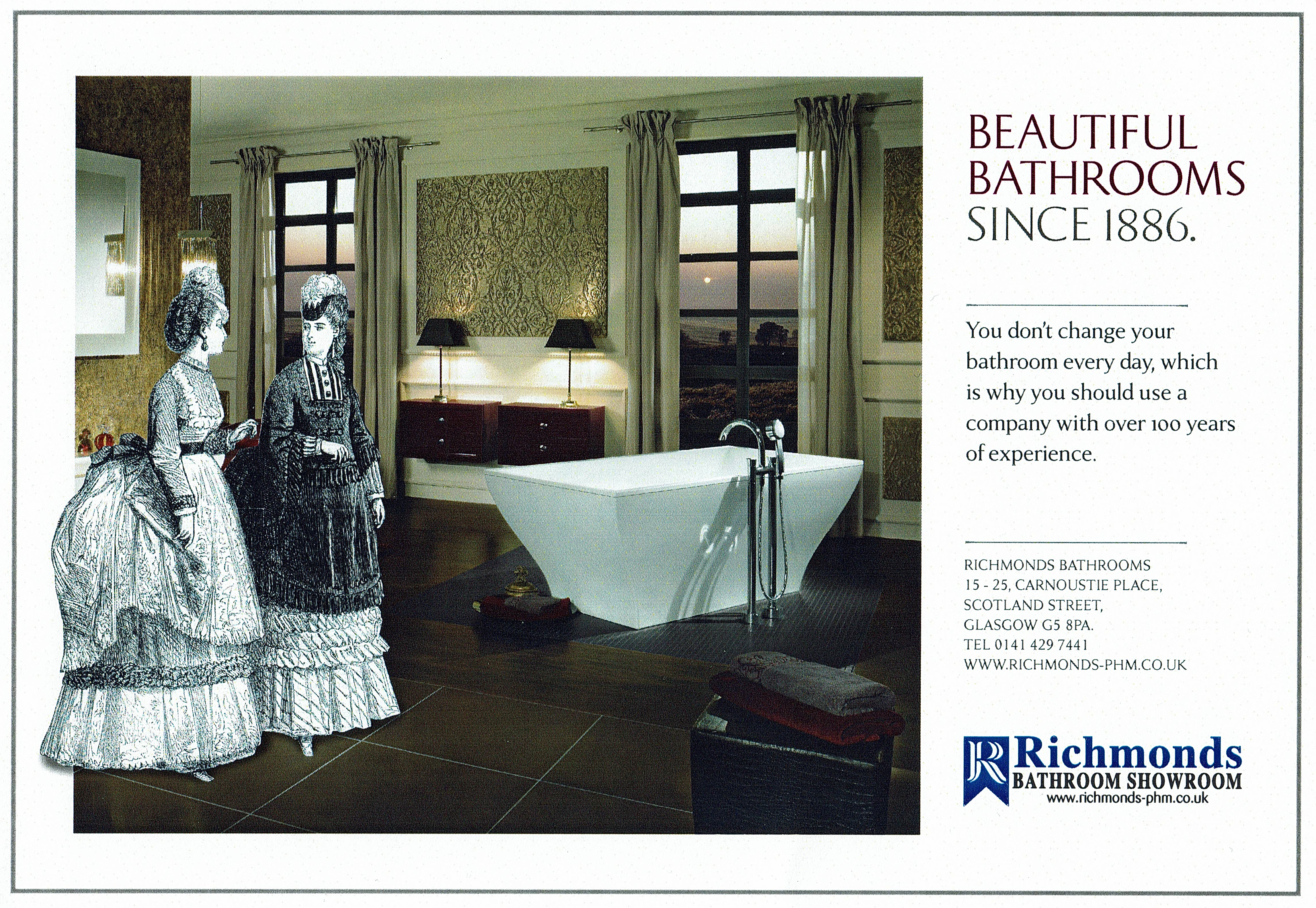 Old Richmonds Advert