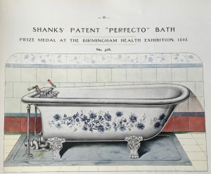 "Shanks' Patent ""Perfecto"" Bath"