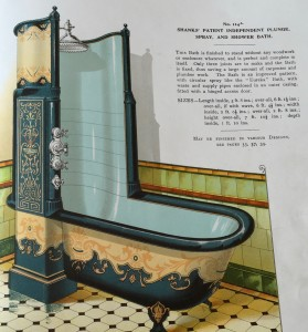 Shanks' Patent Independent Spray Bath