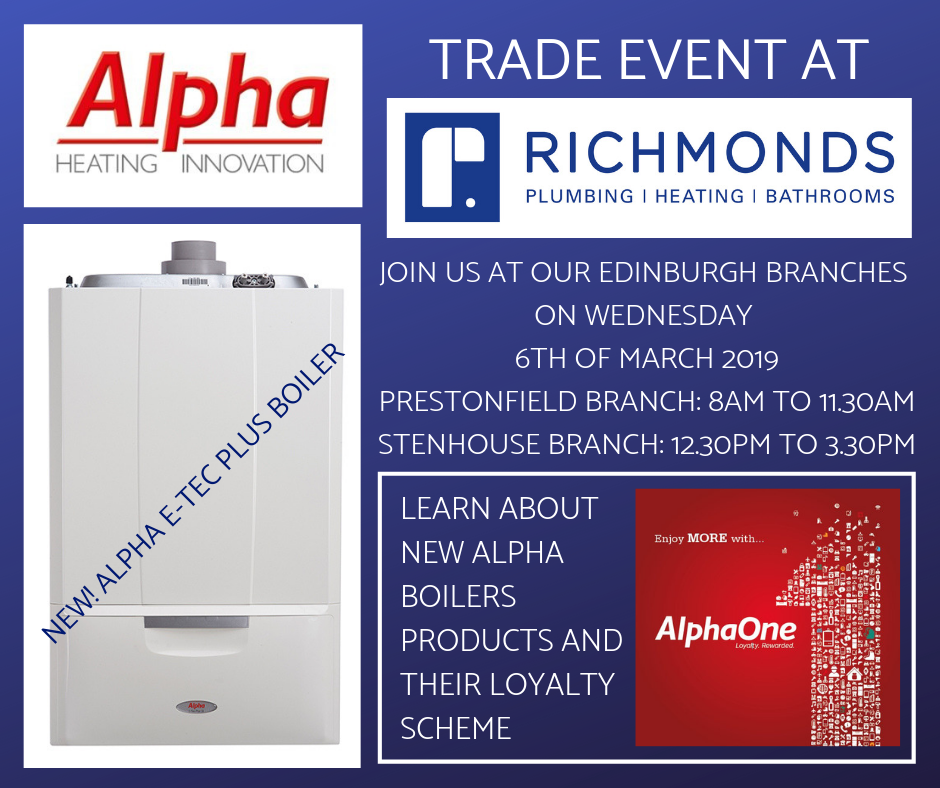 ALPHA BOILERS Trade Event