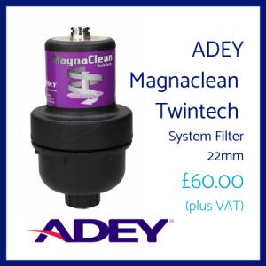 ADEY Magnaclean Twintech 22mm System Filter
