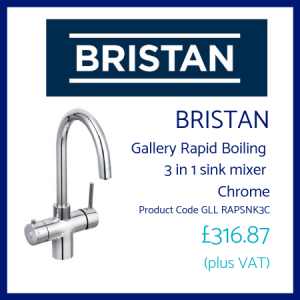 Bristan Gallery Rapid Boiling 3 in 1 sink mixer