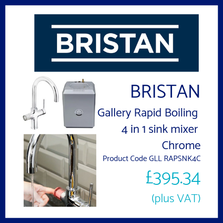 Bristan Gallery Rapid Boiling 4 in 1 sink mixer