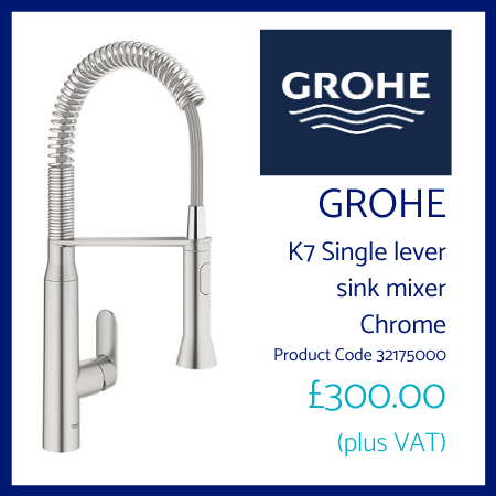 Grohe K7 Single Lever Sink Mixer