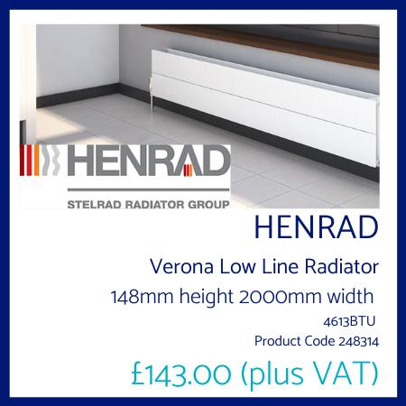 Henrad Verona Low Line 148mm x 2000mm