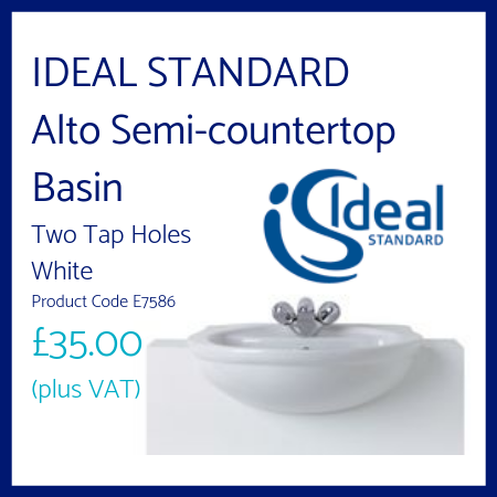 Ideal Standard Alto Semi-countertop Basin