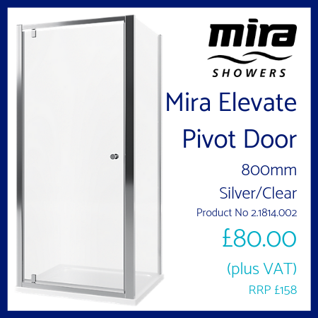 Mira Elevate Pivot Door 800mm
