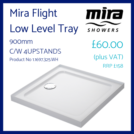 Mira Flight Low Level Tray 900mm