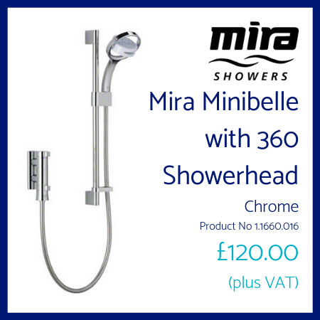 Mira Minibelle with 360 Showerhead