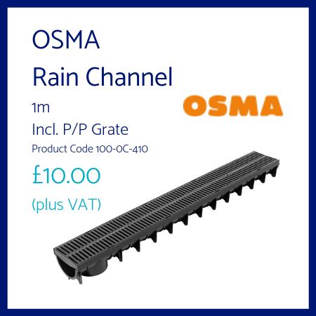 OSMA Rain Channel
