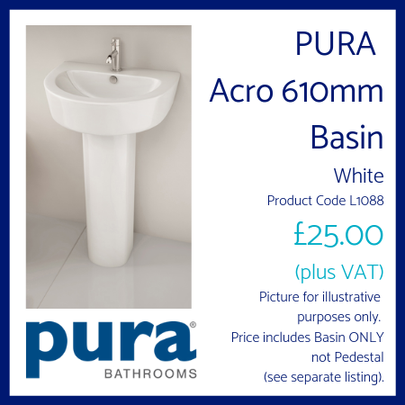 PURA Acro 610mm Basin