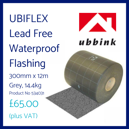 UBIFLEX Lead Free Waterproof Flashing 300mm x 12m