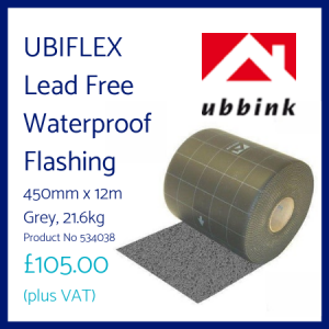 UBIFLEX Lead Free Waterproof Flashing 450mm x 12m
