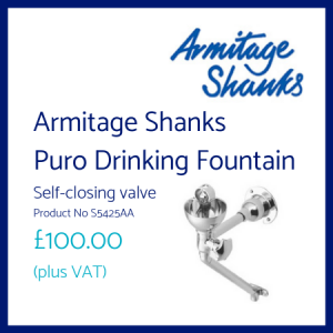 Armitage Shanks Puro Drinking Fountain