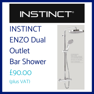 Instinct ENZO Dual Outlet Shower