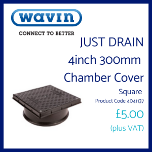Just Drain Chamber Cover