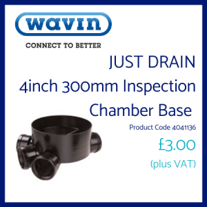 Just Drain Inspection Chamber Base