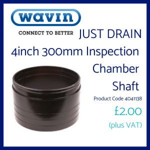 Just Drain Inspection Chamber Shaft