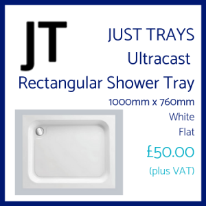 Just Trays Rectangular Shower Tray
