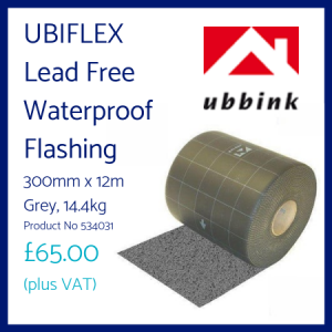 Ubiflex Lead Free Waterproof Flashing