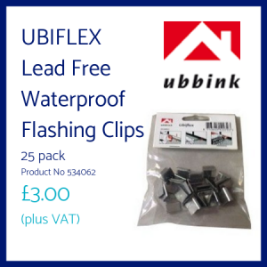 Ubiflex Lead Free Waterproof Flashing Clips