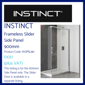 Instinct Frameless Slider Side Panel