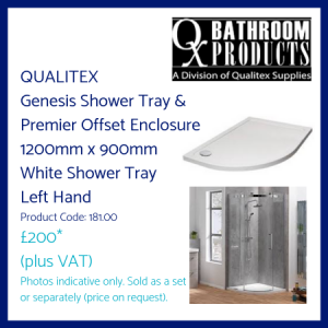 Qualitex Shower Tray and Enclosure