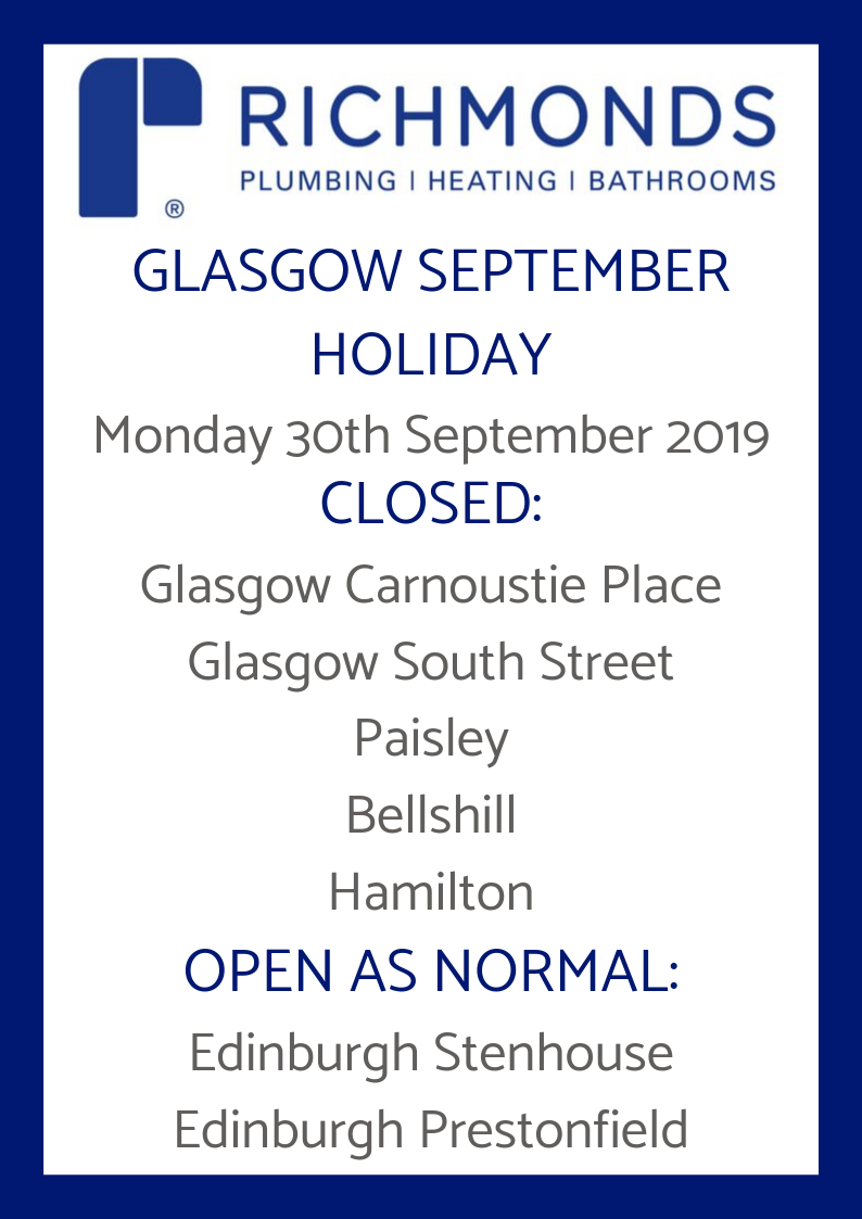 Holiday Notice Glasgow