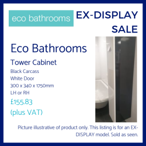 Eco Bathrooms Tall Cabinet