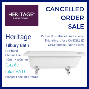Heritage Tilbury Bath