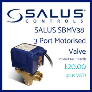 SALUS 3 port valve