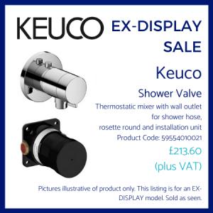 Keuco Shower Valve